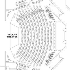 Blank Theatre Stage Diagram 2002 Grand Cherokee Radio Wiring Seating Charts  Arts Uw La Crosse