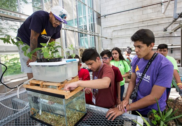 Program Inspires Students In Stem Wins Statewide