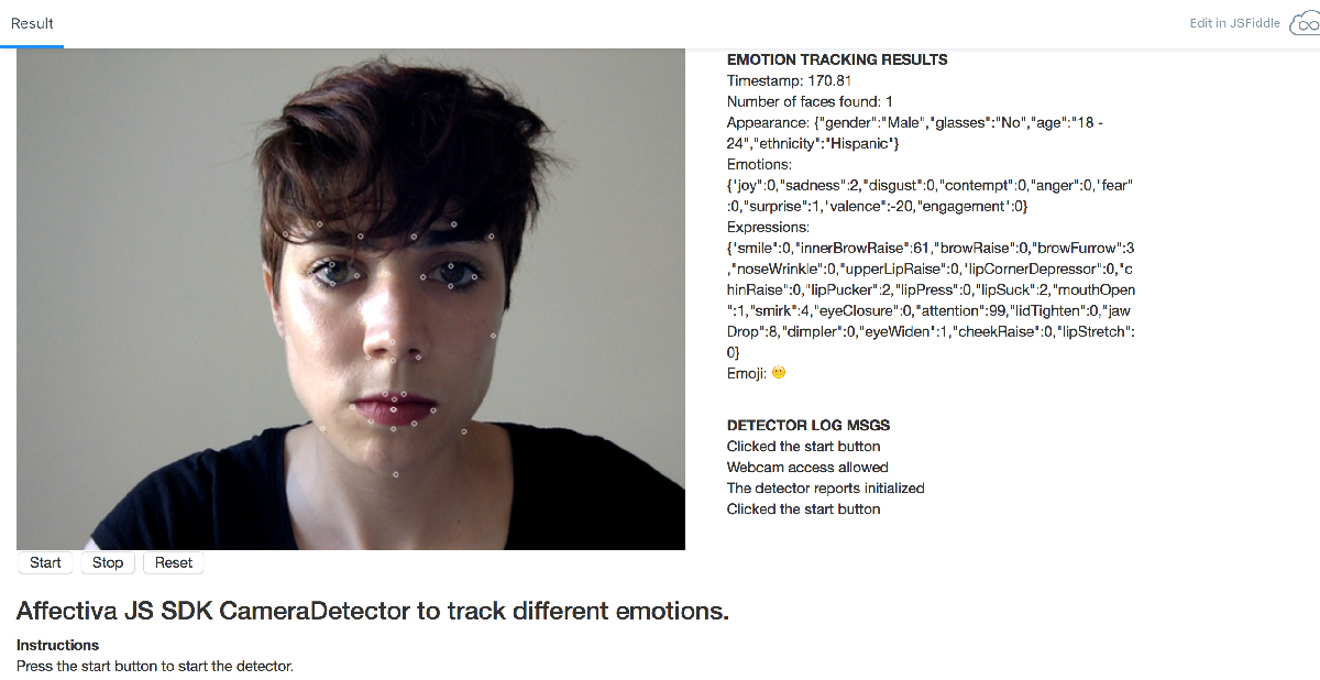 face tracking