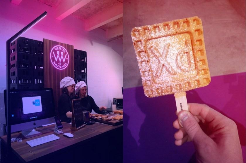 waffle wireframe blog