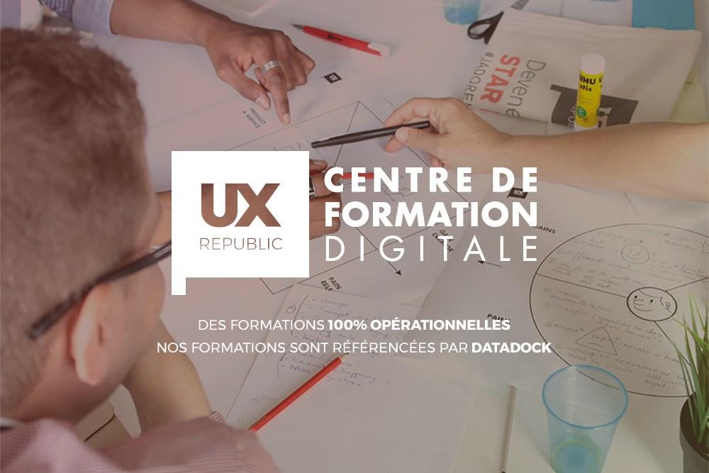 UX-Republic Centre de Formation Digitale Design Sprint