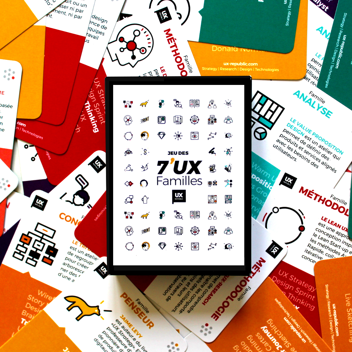 7'UX Family Cards UX-Republic