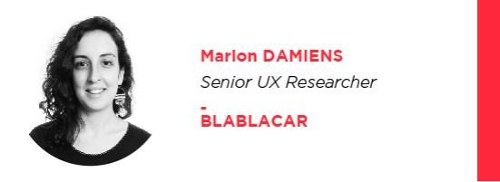 UX Marion Damiens Blablacar Uxconf