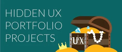 5 Hidden Sources of UX Portfolio Projects Image