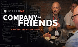 best-ux-design-communities-groups-Give Good UX Company of Friends