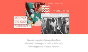 best-ux-design-communities-groups-Hexagon UX