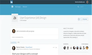 best-ux-design-communities-groups-User Experience (UX) Design