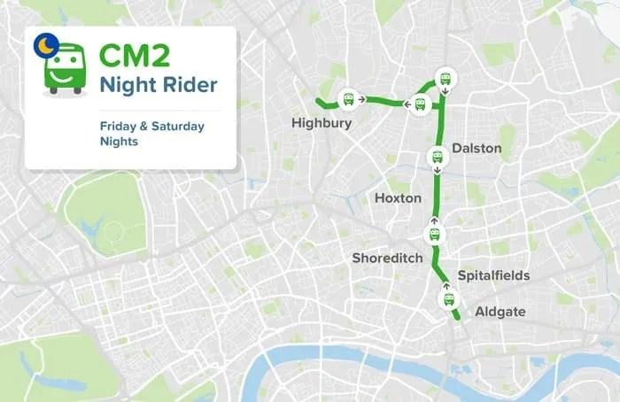 smart bus route city mapper