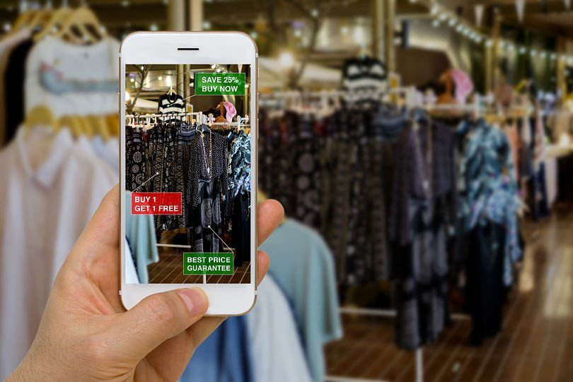 Could AR apps, like the developed by Ikea change the way we shop? Image Source : RocksDigital