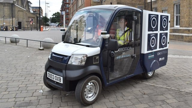 automated vehicles cargo pod