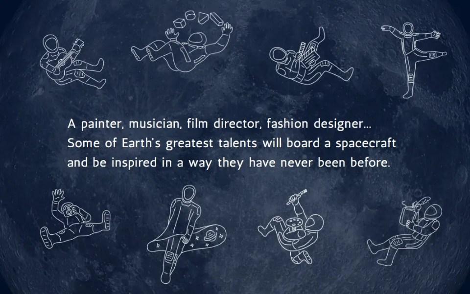 #DearMoon is a 'universal global art project' being led by Japanese billionaire Yusaku Maezawa