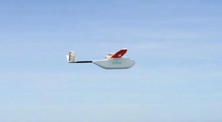 zipline drone delivery