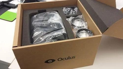 Oculus packaging