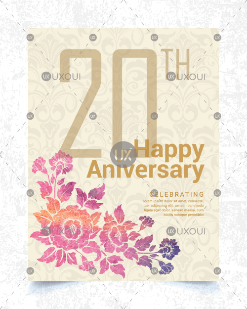 Wedding Anniversary Invitation Card Freelance Services Marketplace