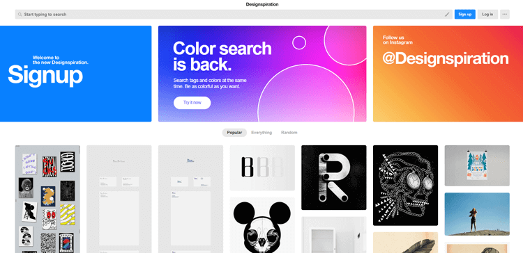 How to find professional graphic design ideas and inspiration! | UXoUI