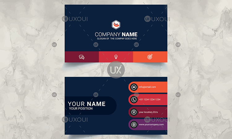2018 S Best Selling Business Visiting Card Templates Design Uxoui