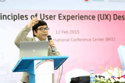 Hands-on UX @ Digital World 2015