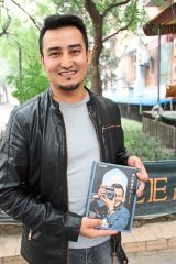 Changing perceptions: Kurbanjan aspires to repaint the image of Xinjiang and its people through his book.