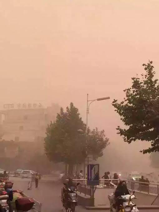 Kaşgar-Hava Kirliliğiö