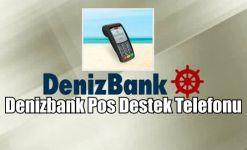 Denizbank Pos Destek Telefonu (444 0 802)