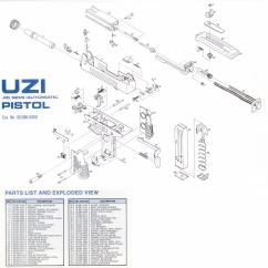 Generic Semi Auto Handgun Parts Diagram 2005 Yamaha R6 Wiring Uzi Talk Diagrams