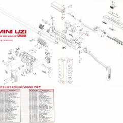 Generic Semi Auto Handgun Parts Diagram 3 Way Switch Wiring Multiple Lights Uzi Talk Diagrams