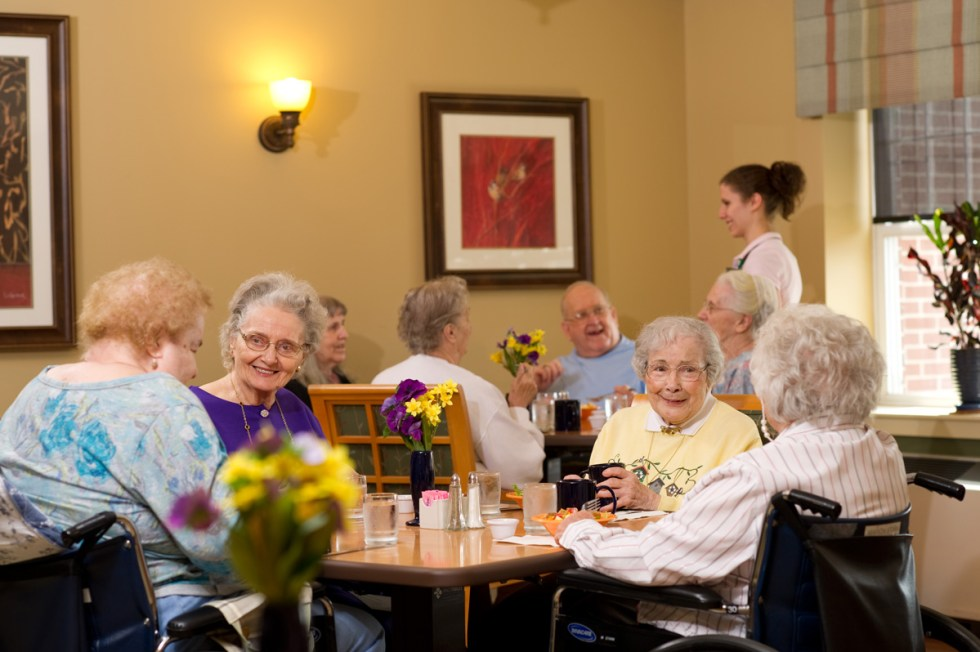 United Zion Retirement Community - Assisted Living Dining