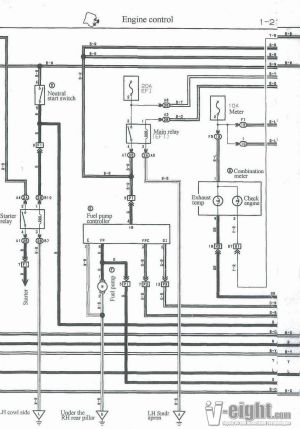 [WRG6251] 1uz Fe 240sx Wiring Harness