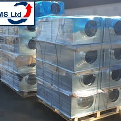 palleted grille boxes
