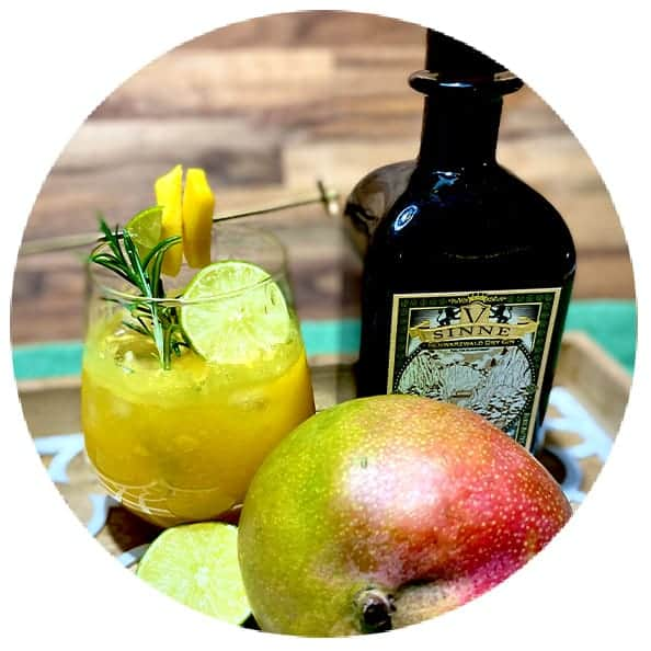V-SINNE Gin Cocktail Mango Galore