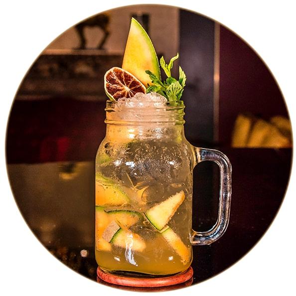 Gin Cocktail Icedtea