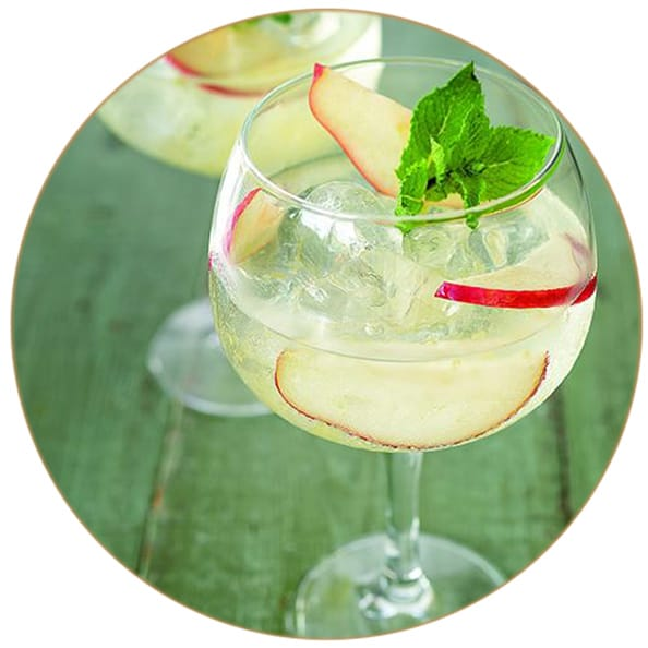 Gin Tonic Apfel Rosmarin