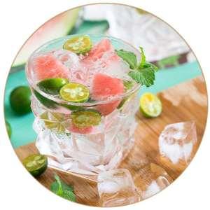 Gin Tonic Melone Minze