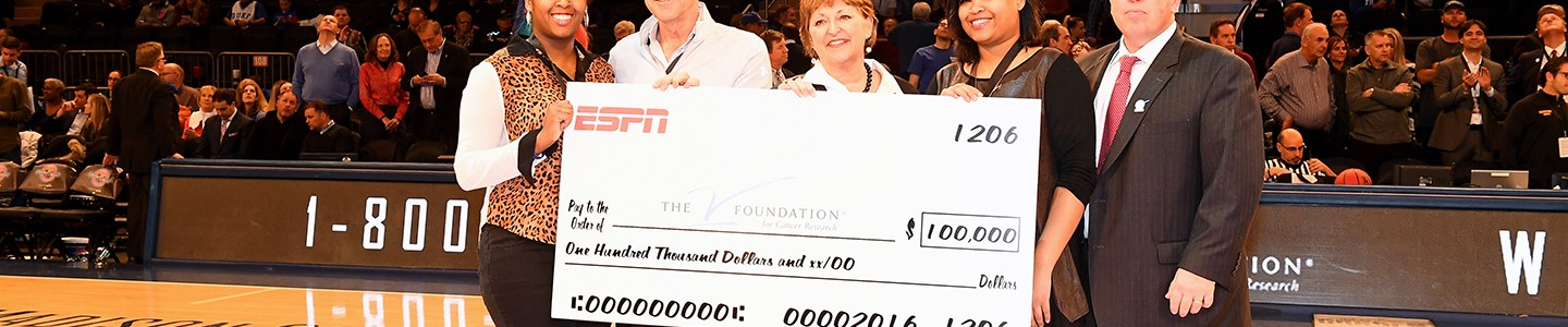 Record Fundraising Announced for ESPN's 2016 Jimmy V Week Campaign