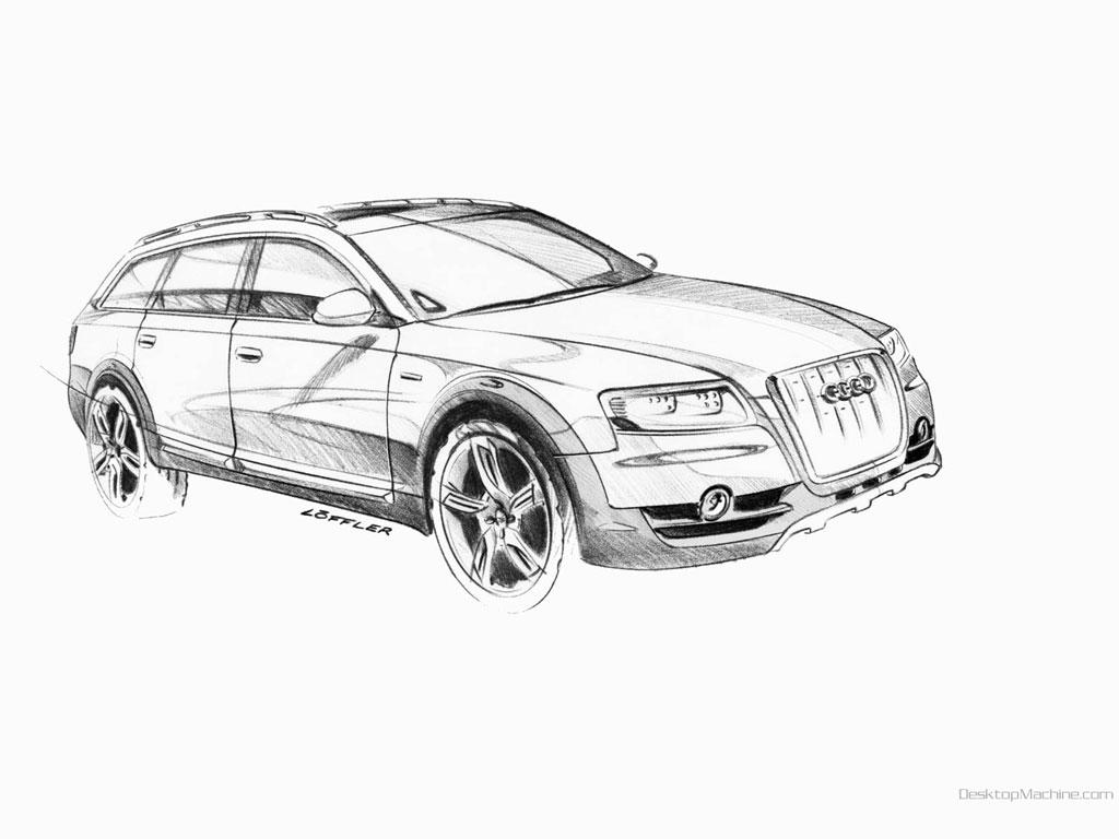 Audi Allroad Quattro Concept X768 B1