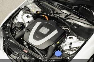 Mercedes S400 Hybrid Blanche Moteur  Mercedes Benz  Photos GT  Les plus belles photos de GT