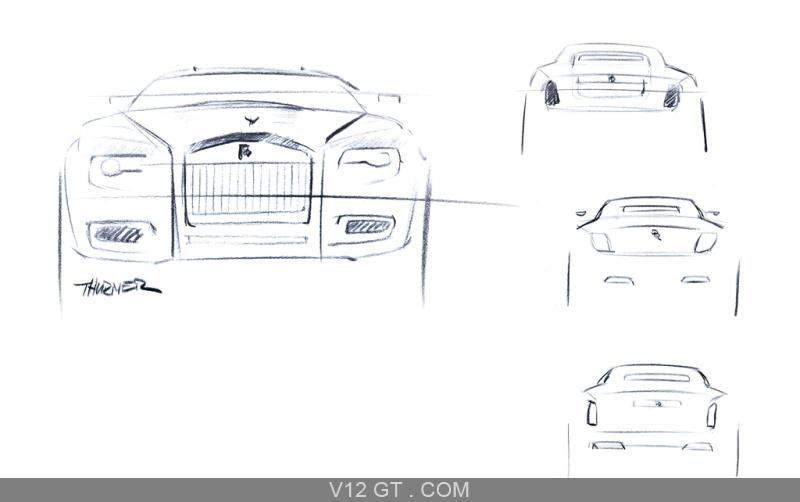 Rolls Royce Ghost dessins / Rolls Royce / Photos GT / Les