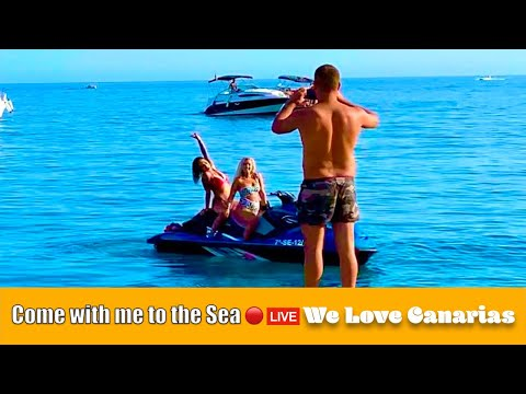 Gran Canaria Live 🔴Today Come with me to the Sea | We❤️Canarias