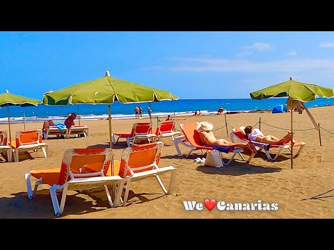 Gran Canaria Playa del Ingles San Agustin Beach | We❤️Canarias