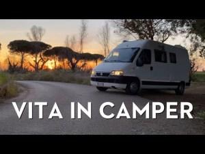 VITA IN CAMPER un pomeriggio a spasso tra mare e foresta in Van – [Vita in Camper Ep.9]