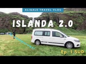 GIRO D'ISLANDA in Campervan! Ep. 1: SUD – VLOG di Viaggio Luglio 2020
