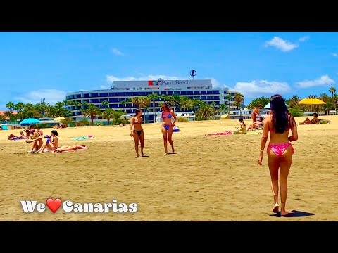 Gran Canaria Maspalomas Beach Hotels Shops Restaurants | We❤️Canarias