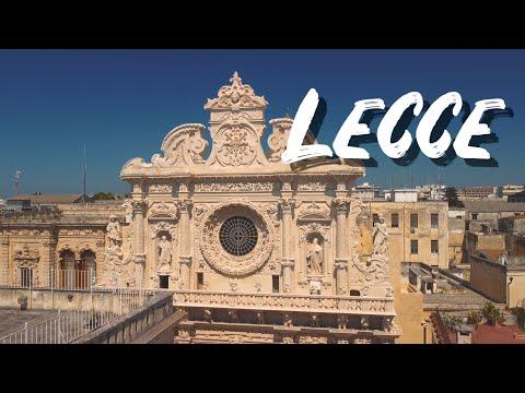 LECCE un breve video nel centro storico delle mia città preferita