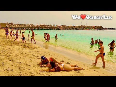 Gran Canaria Amadores Beach Life 🌞Calima Weather Special | We❤️Canarias
