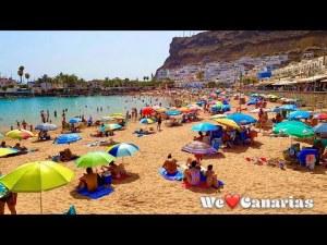 Gran Canaria Puerto de Mogan Beach Marina Restaurants   We❤️Canarias
