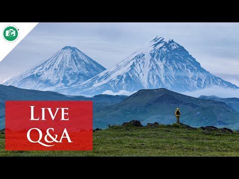 Live Domande e Risposte al rientro dalla Kamchatka