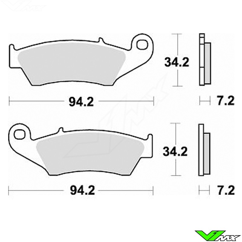 Brake pads Front Braking (Race)