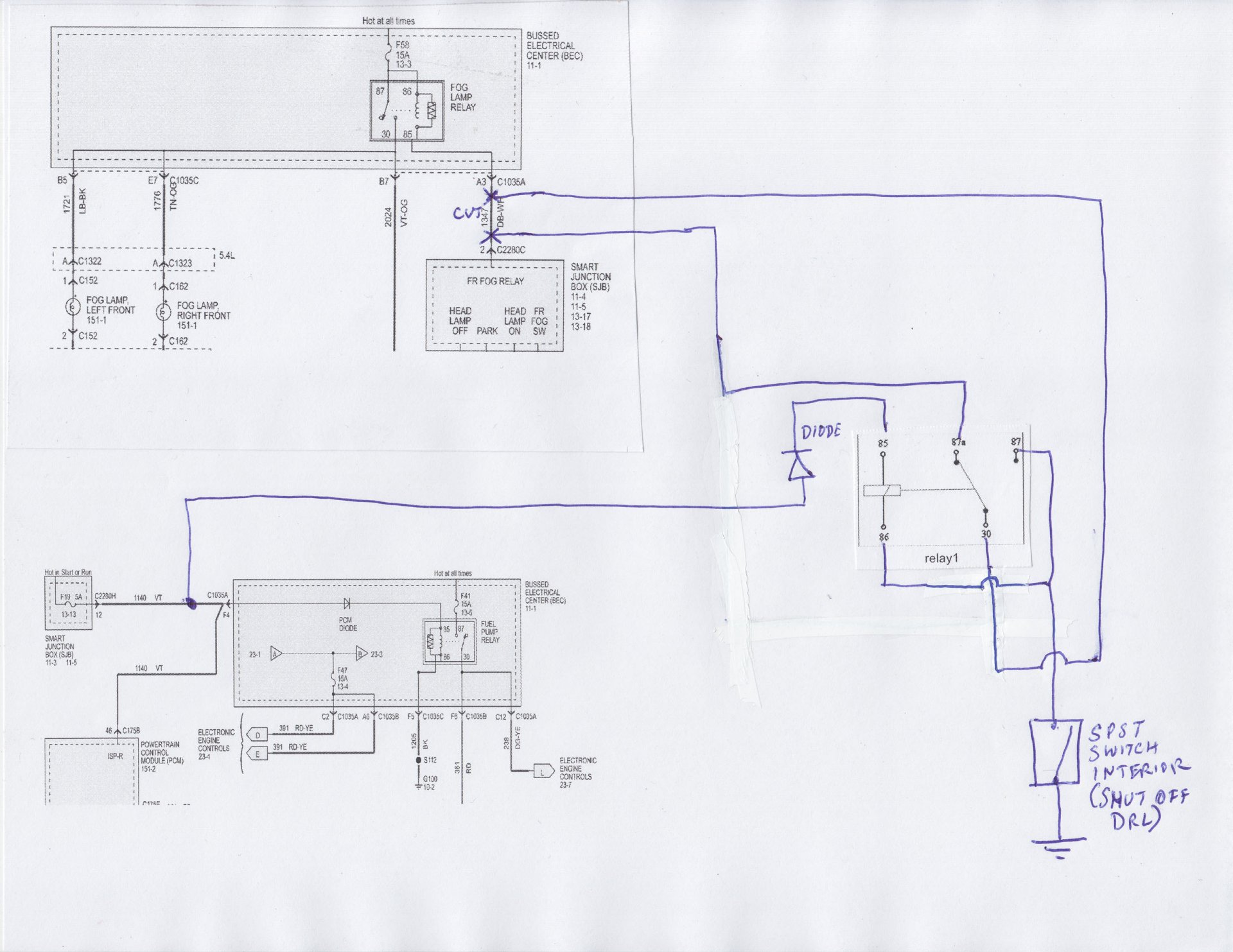 2008 ford boss plow wiring schematic