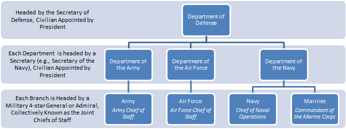 u s government structure diagram 4 pin relay wiring with switch and branches veterans employment toolkit illustrating the five of us military