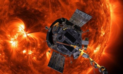 Parker Solar Probe Rockets Toward Sun